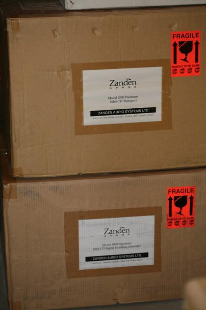 Zanden Audio 5000 signature dac AND 2000P TRANSPORT latest model, dealer demo