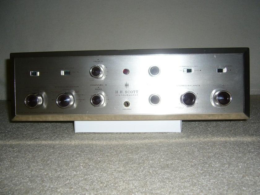 HH Scott 222C Integrated Amplifier