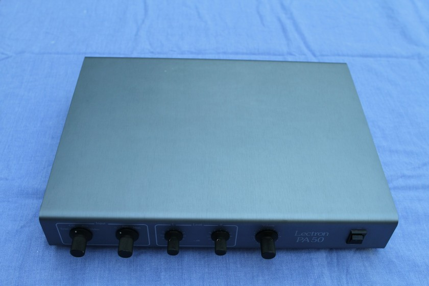 Lectron PA 50 tube preamp line stage Nick Doshi modified