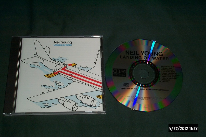 Neil young - Landing On Water cd nm