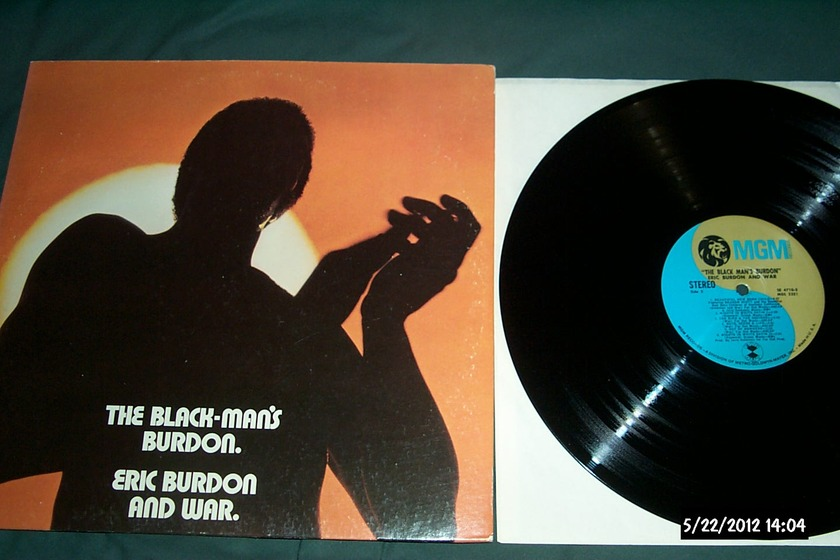 Eric Burdon/War - 2Lp The Black-Man's burdon nm