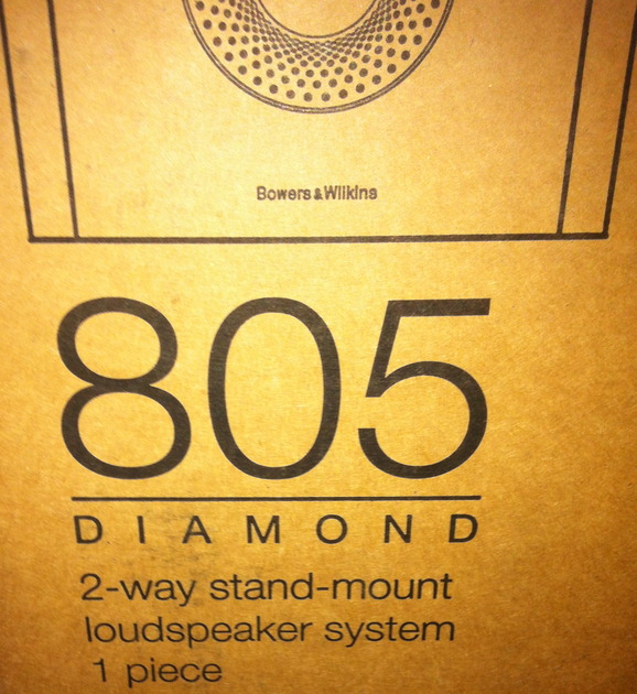 B&W 805D2, Diamond speaker monitor in black, Current Model in Mint condition Studio-grade, the best