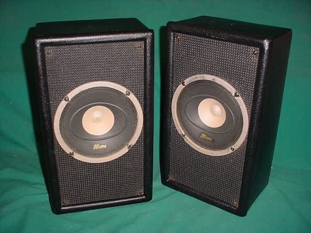 """Rare 6.5"""" National/Panasonic """"DuoCone""""   Full Range w/ Alnico magnets VHQ made in Japan, Sound Excellent!"""
