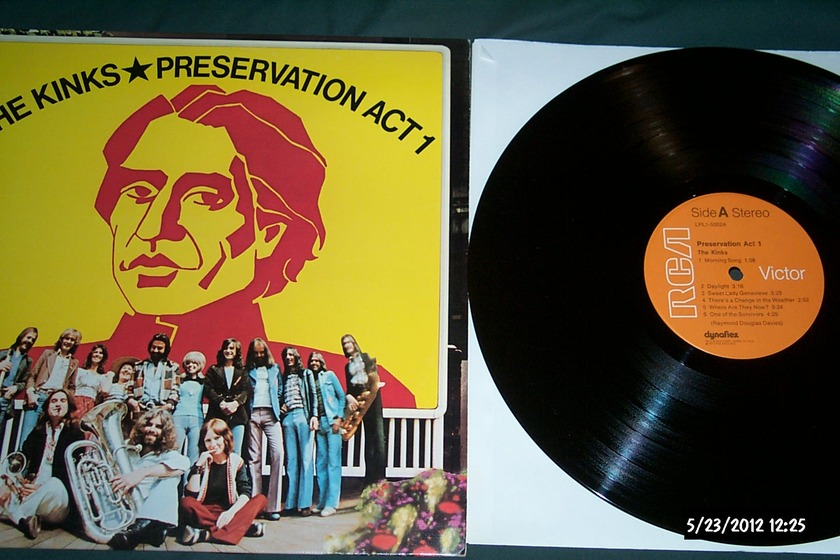 The kinks - Preservation Act 1 lp nm