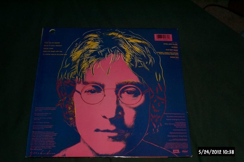 John Lennon - Menlove Ave lp nm capitol rainbow label