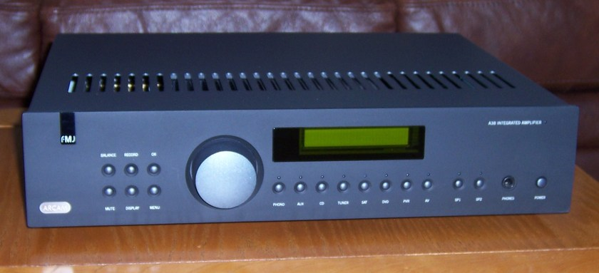 Arcam  A38 Integrated - Black