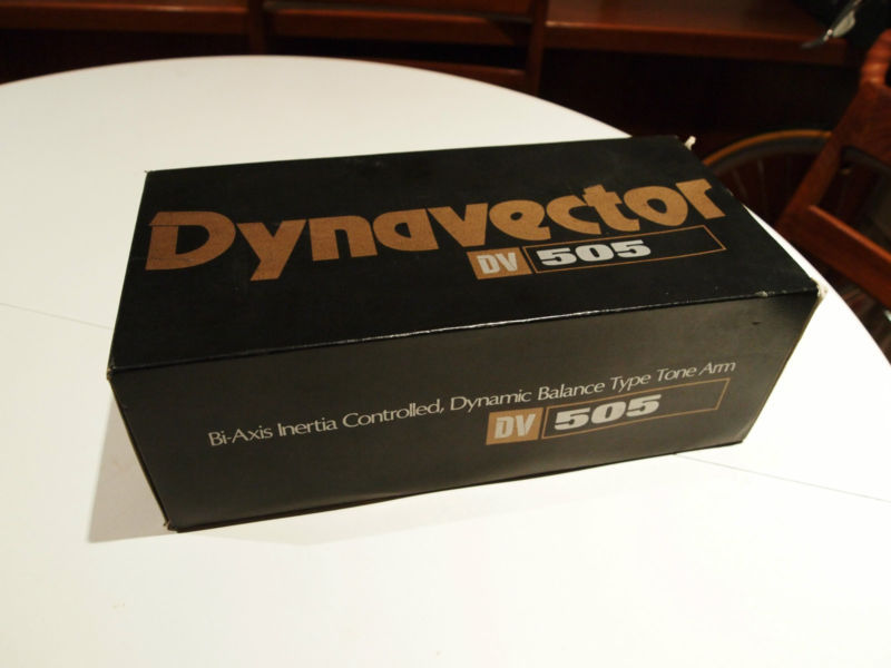Dynavector DV-505 with acessories and box  - Rewired.