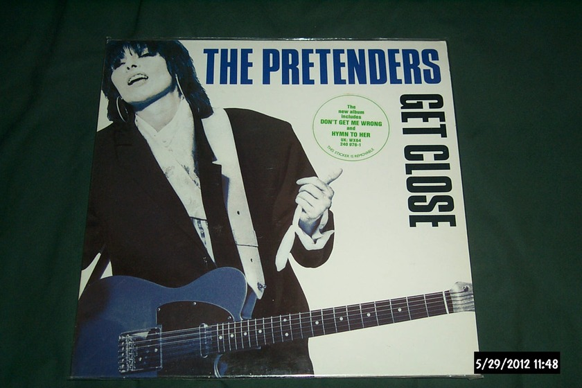 The Pretenders - Get Close germany vinyl lp nm