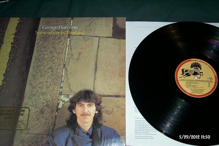 George harrison - Somewhere In england lp nm