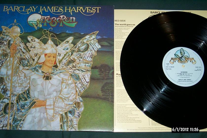 Barclay James - Harvest Polydor UK octoberon lp nm