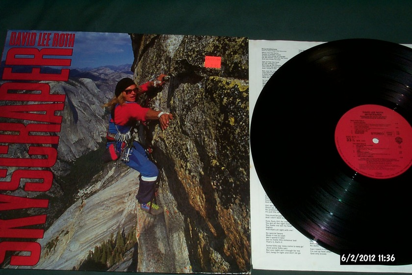 David Lee Roth - Skyscraper warner germany lp nm