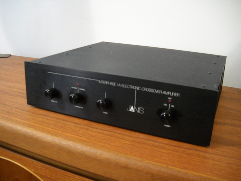 Janis Interphase 1A crossover/amplifier rarely available, works perfectly
