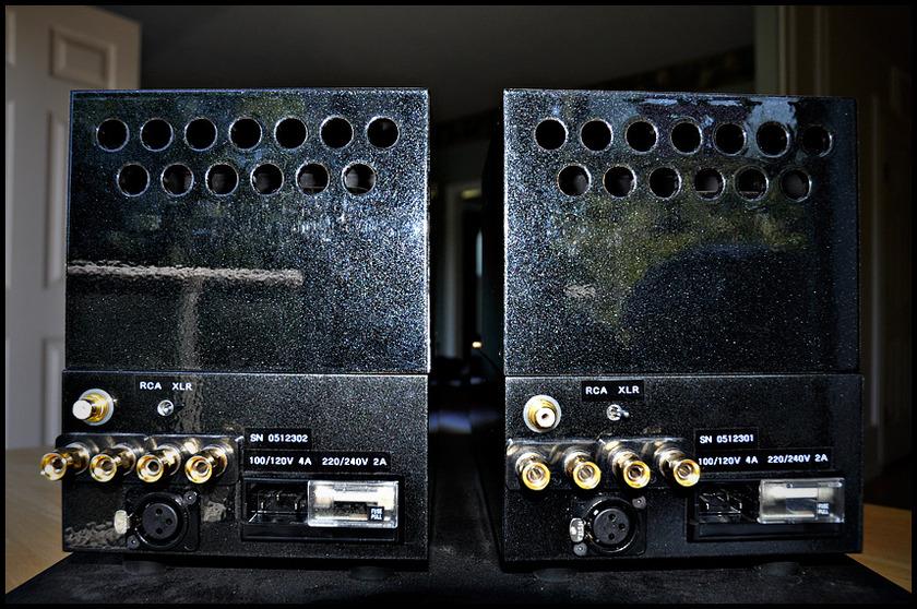 VAC Auricle Musicbloc MB70  - exceptional tube mono blocks