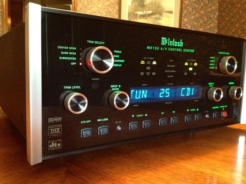 McIntosh MX132 THX Preamplifier w/ LED kit Good Condition