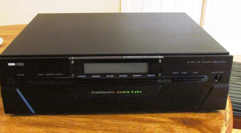California Audio Labs CL-15 Cd player