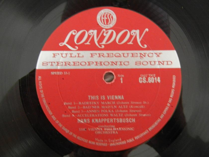 Strauus - This Is Vienna First Pressing/London CS-6014 blueback