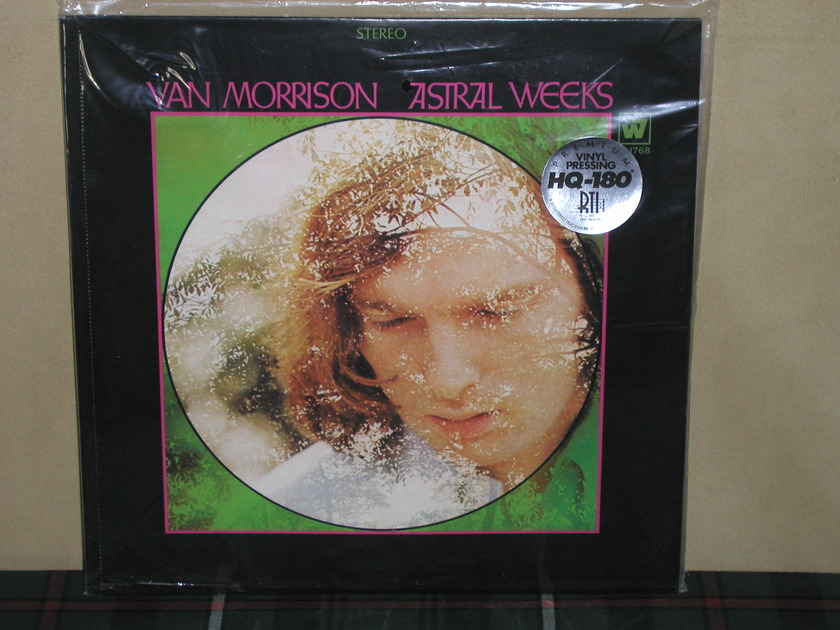 Van Morrison - Astral Weeks 180g SEALED Warner/RTI