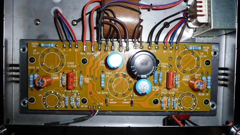 12 Watt SET Stereo Integrated Tube Amplifier ALL UPGRADED