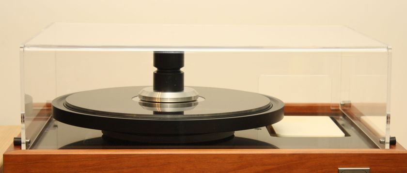 Merrill Scillia Research  MS2 Belt Drive Turntable many upgrades TTWULTIMAT/MSR Outer Ring -Tone/A OPT.