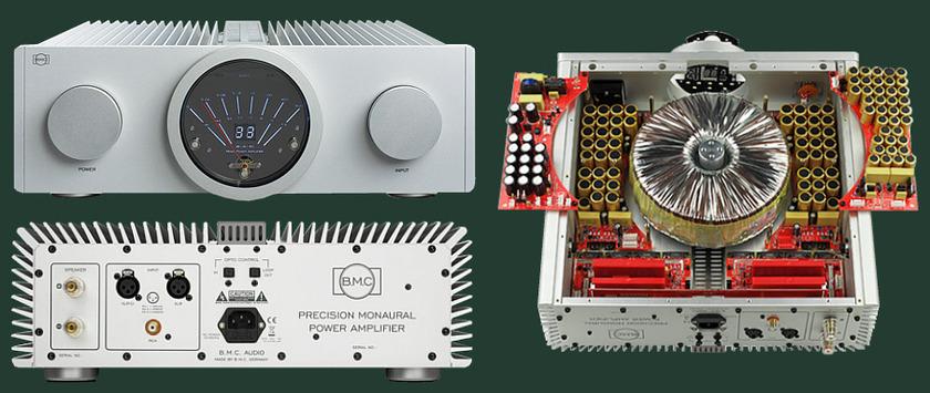 BMC M-1 Mono Block  Amplifiers