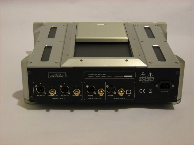 Pi Greco Sinfonia CD Player/usb/volume control Aluminum Chassis