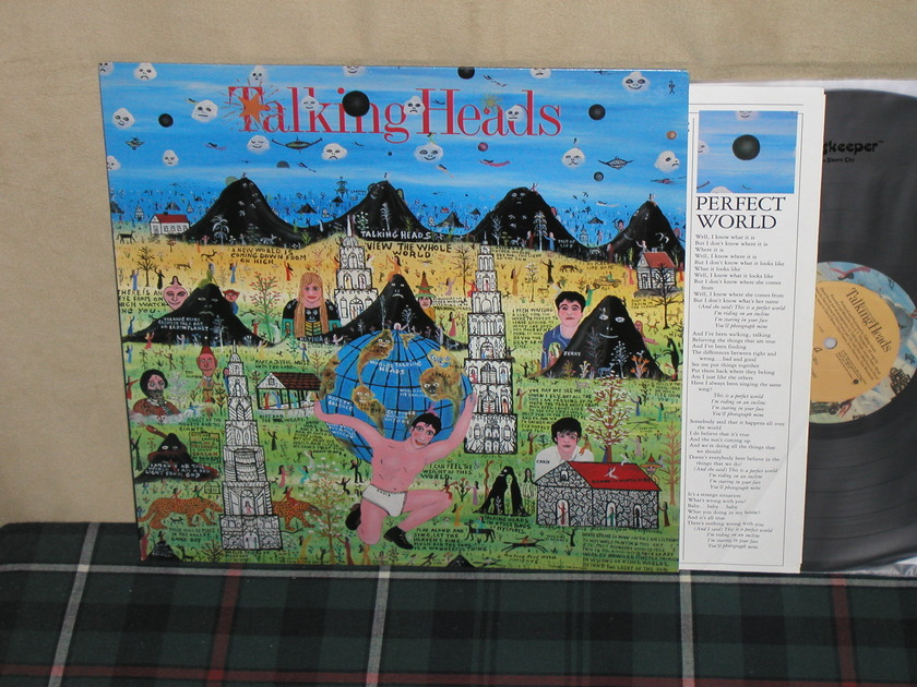 Talking Heads - Little Creatures    Sire 25305 from 1985  (w/inner sleeve)