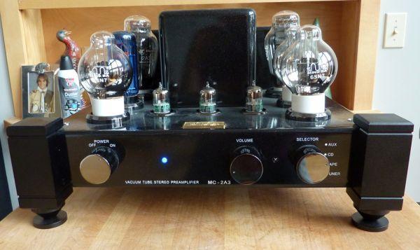 Ming DA Pre Amp MC-2A3 x8 Tube pre amplifier