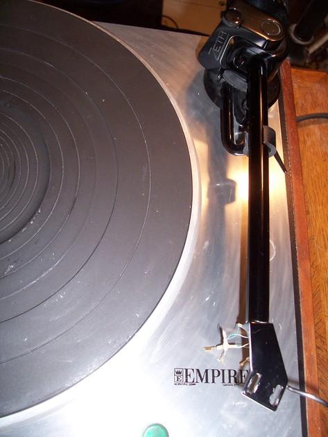 Empire Turntable 498 w/ installed Zeta Tonearm