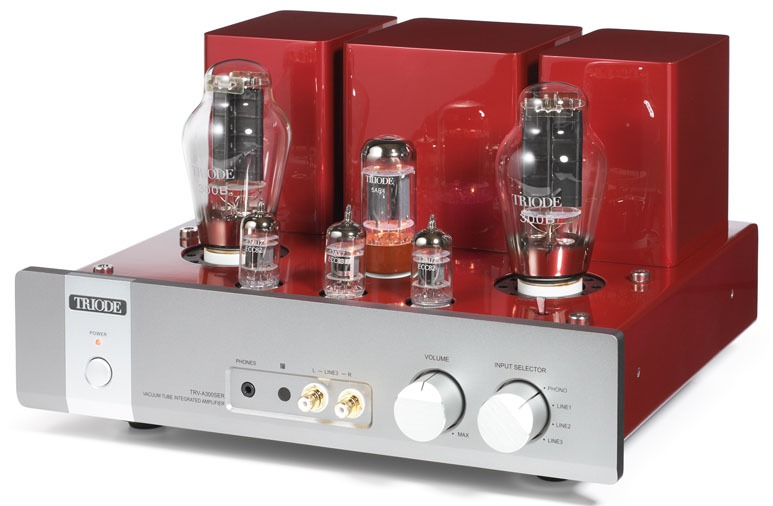 Triode Corporation of Japan TRV-A300SER 300B SET Integrated with remote