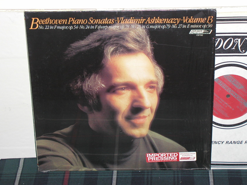 Vladimir Ashkenazy - Beethoven Sonata V13 London ffrr/narrow cs7192