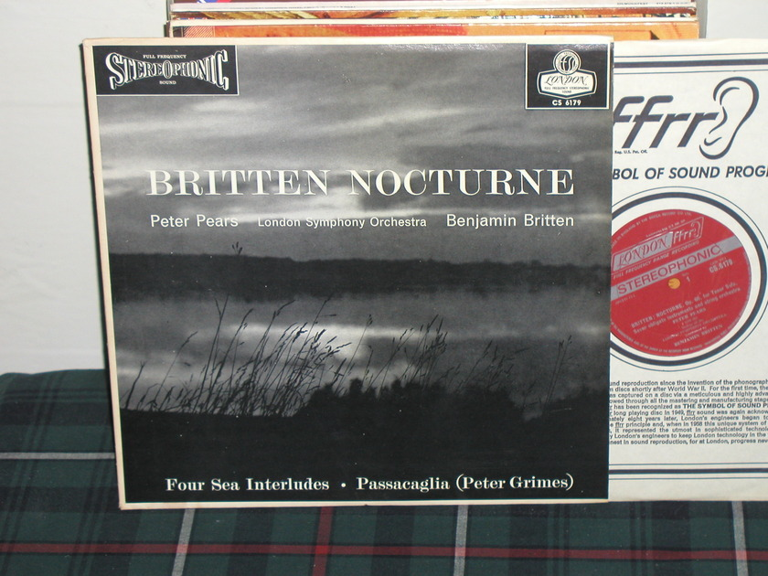 Pears/Britten/LSO - Britten Nocturne London CS 6179 UK/DECCA Import