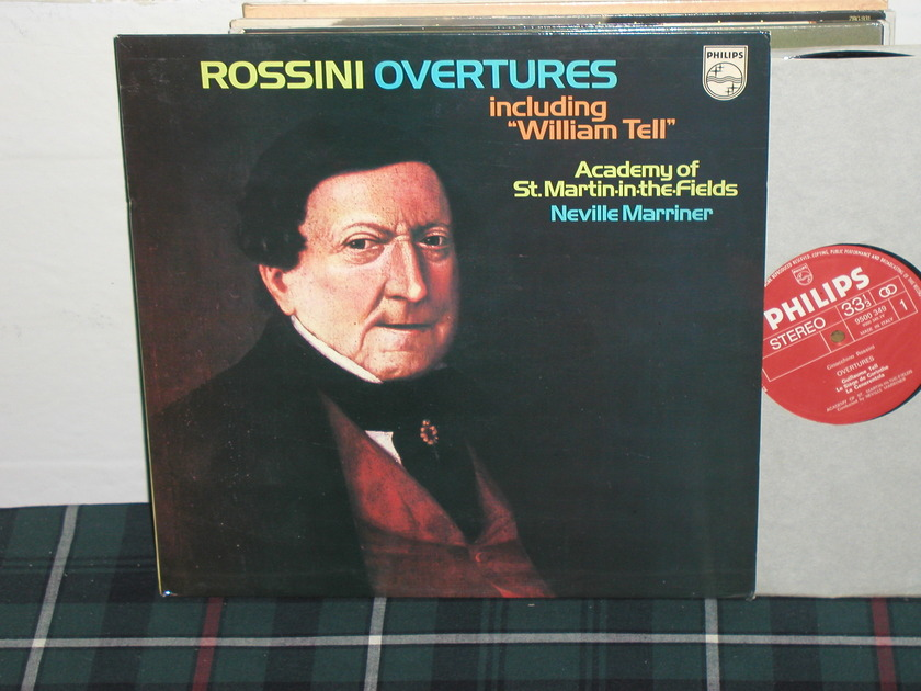 Marriner/AoStMitF - Rossini William Tell Philips Import Pressing 9500