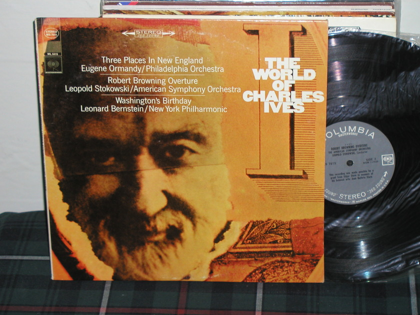 Ormandy/Stokowski/Bernstein - World Of Ives Columbia MS 7015 <360>  labels from 60's