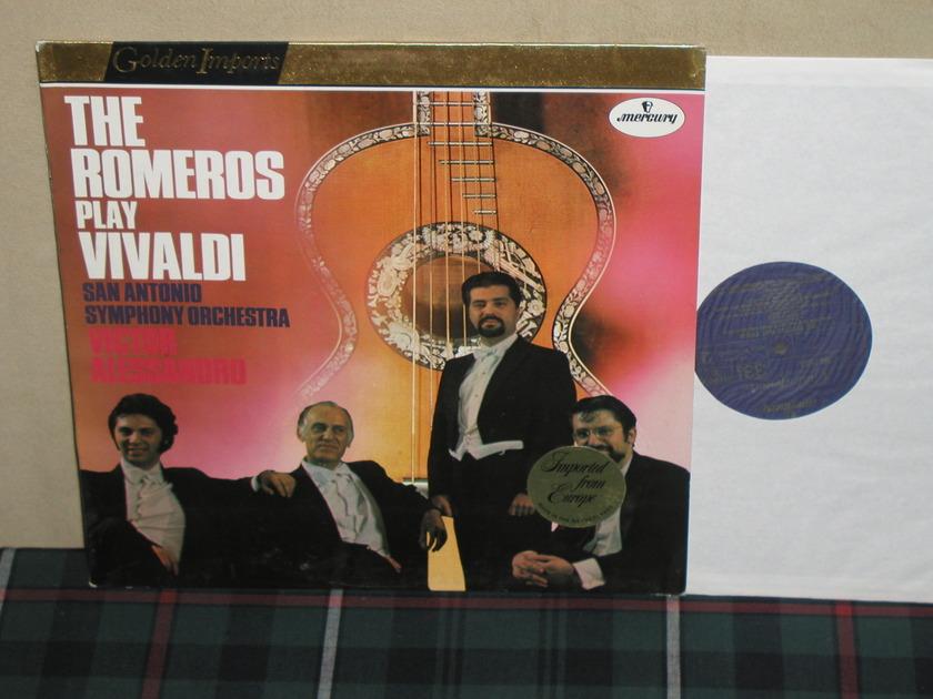 The Romeros/Alessandro - The Romeros Play Vivaldi Mercury Golden Imports