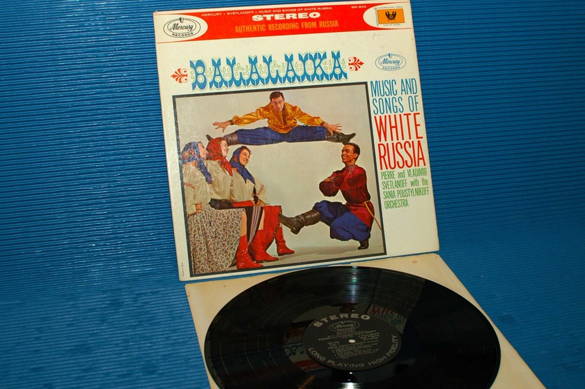 "SVETLANOFF   - ""Balilaika - Music & Songs of White Russia"" -  Mercury 1961 1st pressing"