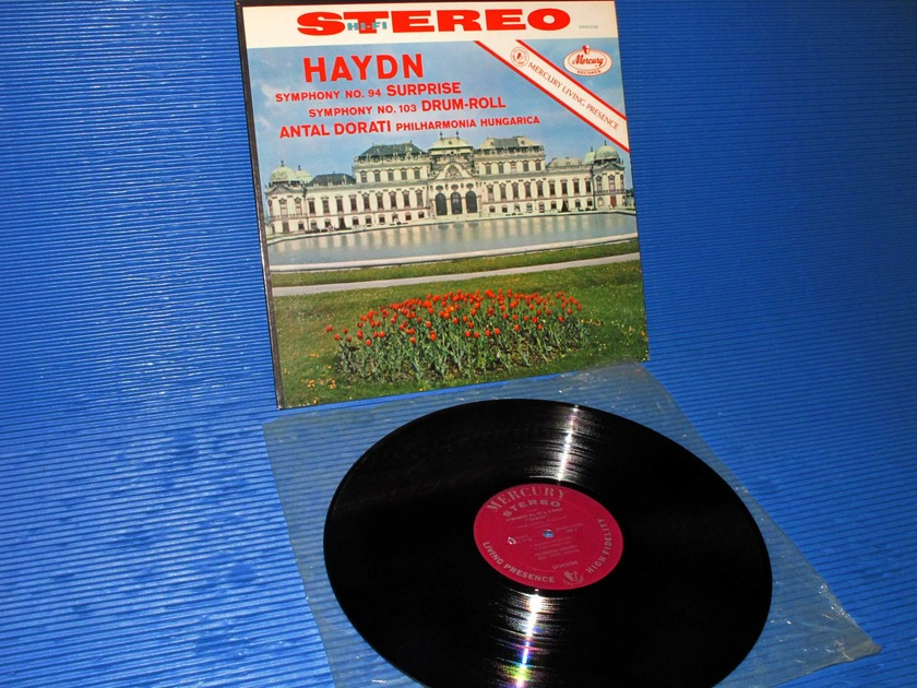 "HAYDN / Dorati  - ""Symphony 94 & 103"" - Mercury Living Presence 1960 early pressing"