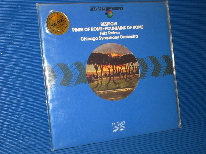 "RESPIGHI / Reiner  - ""Pines of Rome"" - RCA .5 Audiophile Series 1981 SEALED"
