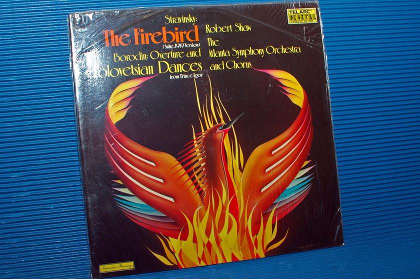 "STRAVINSKY / Shaw  - ""The Firebird"" - Telarc 1978 German Pressing SEALED"
