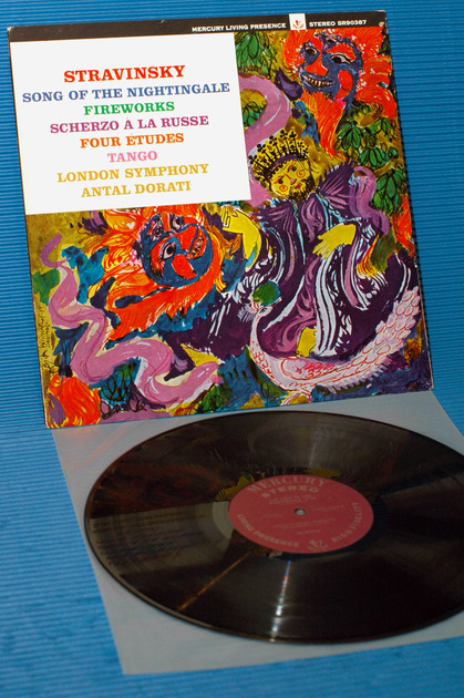 "STRAVINSKY / Dorati  - ""Song of the Nightingale"" -  Mercury Living Presence 1964 TAS List 1st pressing"