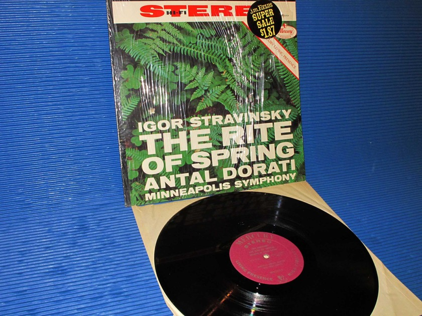 "STRAVINSKY / Dorati   - ""The Rite of Spring"" -  Mercury Living Presence 1961"