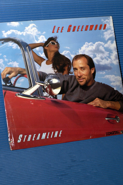 "LEE GREENWOOD   - ""Streamline"" -  MCA 1985 SEALED"