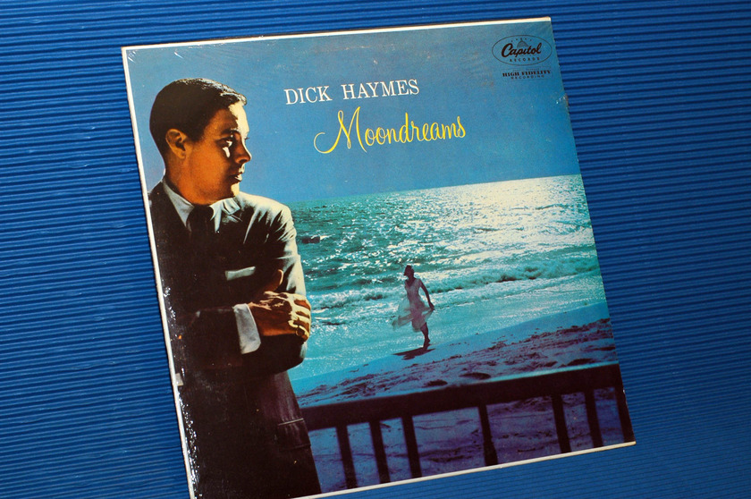 "DICK HAYMES  - ""Moondreams"" - Capitol 1982 mono SEALED"