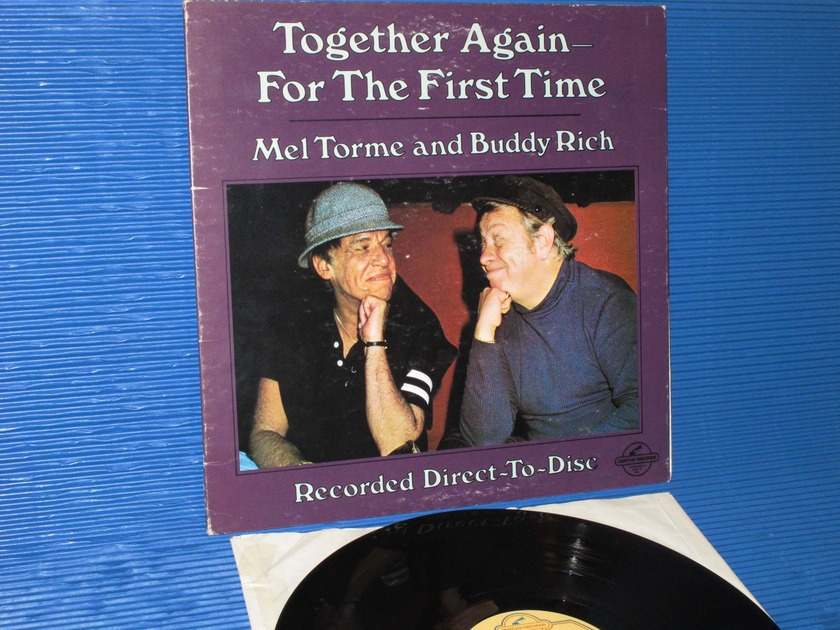 "MEL TORME & BUDDY RICH   - ""Together Again For The First Time"" -  Century 1978 D-D German pressing"
