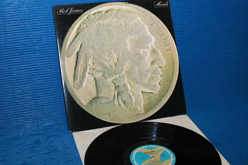 "BOB JAMES   - ""Heads"" -  Tappan Zee/CBS 1977 early pressing"