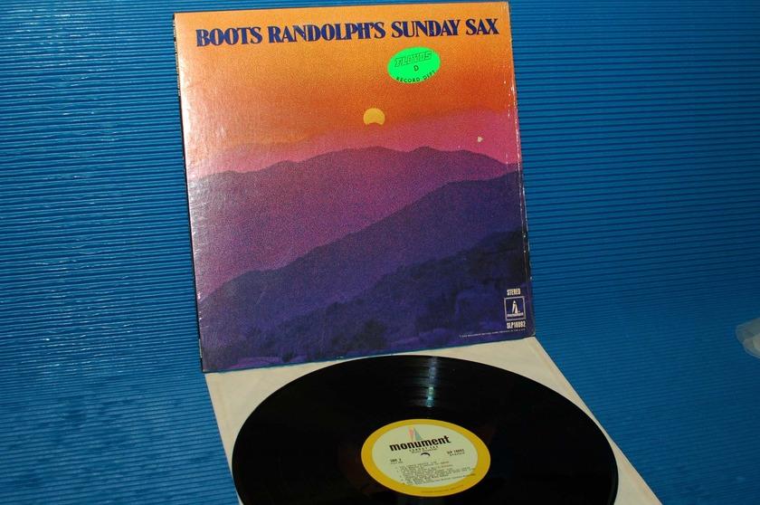 """BOOTS RANDOLPH   - """"Sunday Sax"""" -  Monument 1968"""