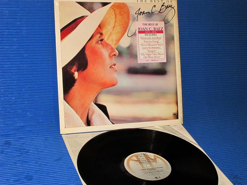 """JOAN BAEZ   - """"The Best of Joan Baez"""" -  A&M 1977"""