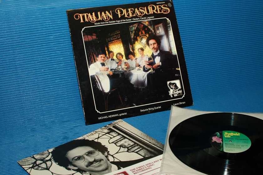 "GIULIANI / CARULLI / LEGNANI / Newman   - ""Italian Pleasures"" - Sheffield Lab D-D 1977 TAS List"