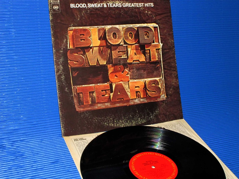 "BLOOD, SWEAT & TEARS  - ""Greatest Hits"" - Columbia 1972"
