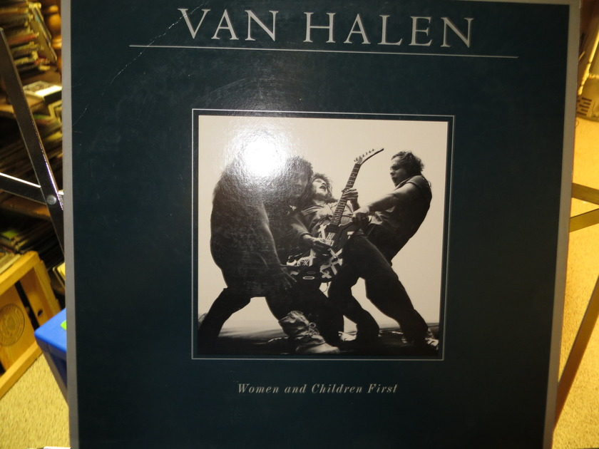 VAN HALEN - WOMEN AND CHILDREN FIRST W POSTER