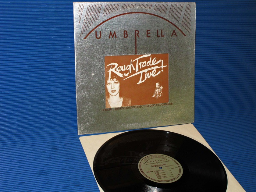 "ROUGH TRADE   - ""Rough Trade Live"" - Umbrella 1976 D-D Ltd Ed"